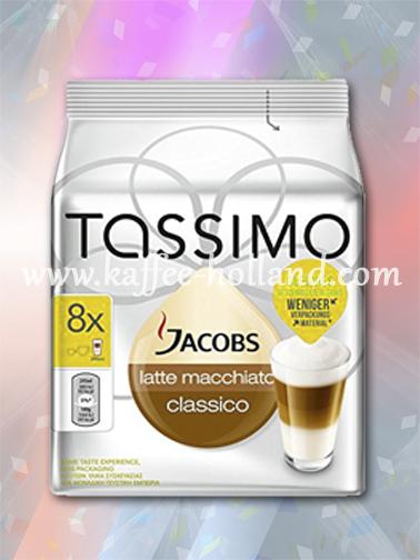 Tassimo Jacobs Latte Macchiato Classico (x5)